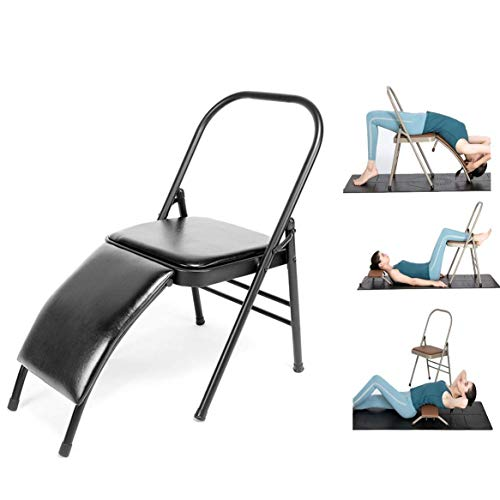 Purchase LMDS Yoga Chair for Family, Gym, Fitness Ideal Chair for Practice Head Stand, Shoulderstand...