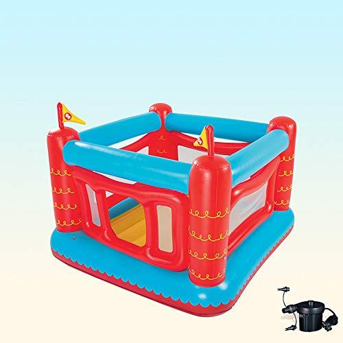 DEAR-JY Castillo Hinchable,175×173×135cm,Valla extraíble Juguetes para niños Pequeño Centro de Actividades del Parque de Atracciones de trampolín para niños de Interior y Exterior