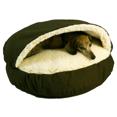 Snoozer Cozy Cave, Olive, Large