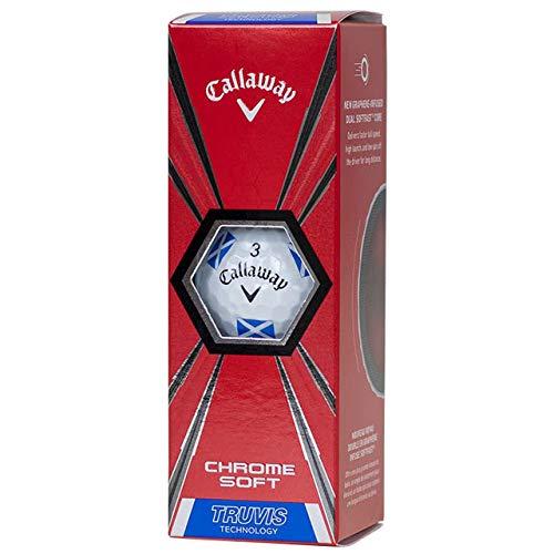 Callaway Golfbälle aus Chrom, weich, Graphen, 1 Hülle