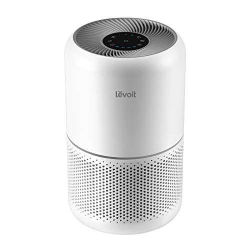 LEVOIT Air Purifier for Home Office, H13 True HEPA Filter, Air Cleaner For Allergies, Pets, Smokers, 3-Stage Air Filtration System Removes 99.97% Smoke Dust Mold Pollen, Odor Eliminators for Bedroom Large Room, Core 300