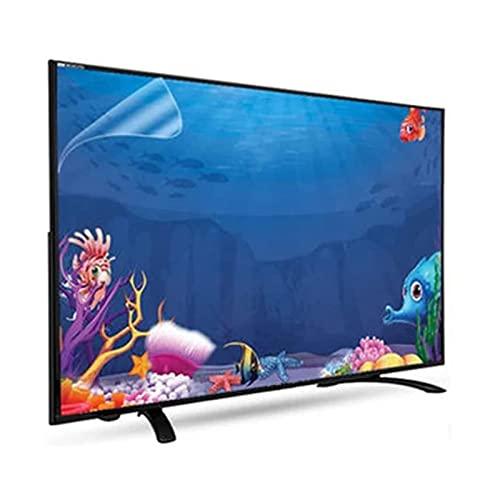 LSSB Protector De Pantalla De TV LCD, Película Anti Luz Azul/Anti Arañazos Filtro De Luz Haz Que La Luz Sea Suave, para LCD LED OLED HDTV, Personalizable