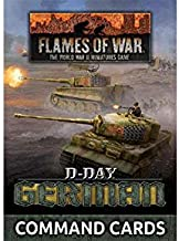 Flames of War Late War German D-Day Command Cards