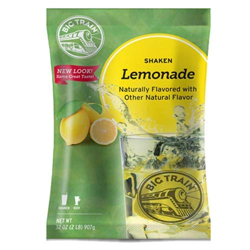 Big Train All Limited price Natural Lemonade Sale SALE% OFF 32-Ounce Shaken