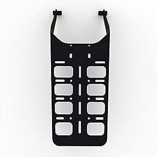 Cargo Rack Luggage Carrier Utility Rear Tail Holder Black Powdercoat fits: 00-16 Suzuki DRZ400 - Immix Racing - 100-004-01-Black-a