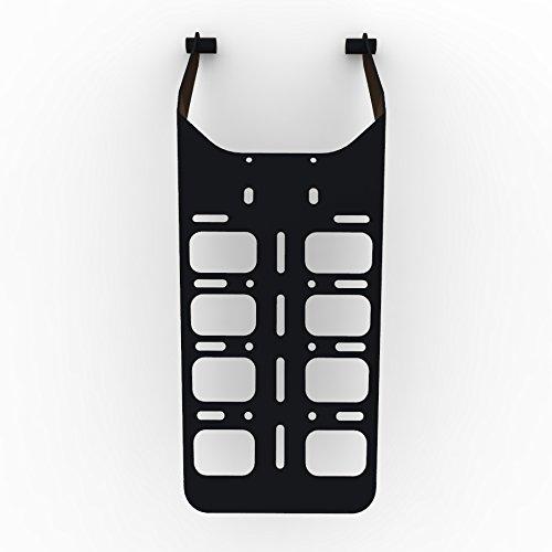 cargo rack luggage carrier utility rear tail holder black powdercoat fits:  00-16 suzuki