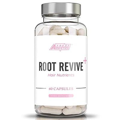 Root Revive+ Premium Hair Vitamins & Nutrients 60 Capsules - Hair Growth Vitamins Supplement with Collagen, Biotin & Vitamins UK Made