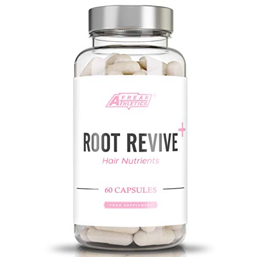 Root Revive+ Premium Hair Vitamins & Nutrients 60 Capsules - Hair Growth Vitamins Supplement with Collagen, Biotin & Vitamins UK Made