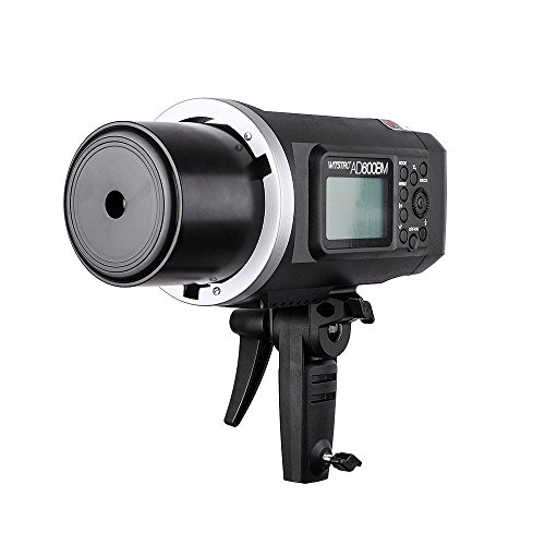 Godox AD600BM Bowens Mount 600Ws GN87 HSS Outdoor Flash Strobe Light Monolight with X1T-C Wireless Trigger Transmitter Compatible for Canon Camera & 7