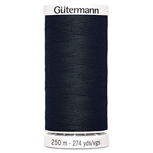 Gutermann Sew-Tutti i Fili, in Poliestere, Colore: Nero, 250 m