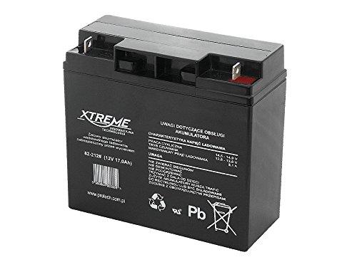 XTREME 12V 17Ah gel batterie AGM Absorbent Glass Mat
