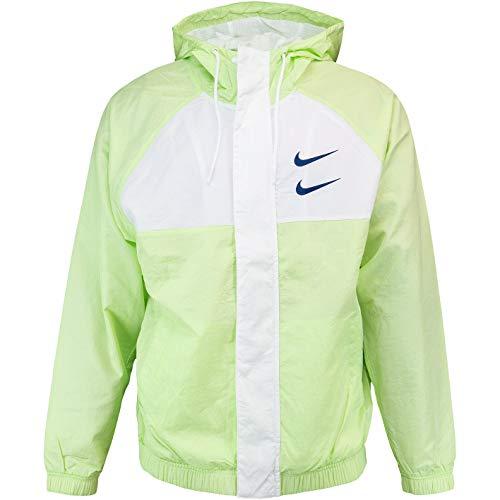 Nike Swoosh Windbreaker Jacke (L, Volt/White)