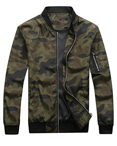 Bomber Jacket Camo Men's