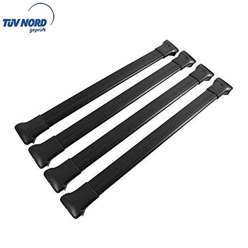 OMAC GmbH Baca portaequipajes para Vito Clase V W447 a partir de 2014, aluminio, color negro, con TÜV ABE
