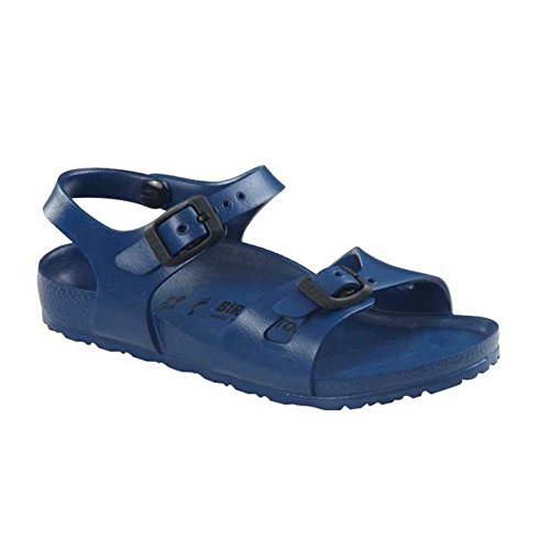 Birkenstock Birkenstock Kid's Rio Eva Sandals, Navy Synthetic, 30 N EU, 12-12.5 N