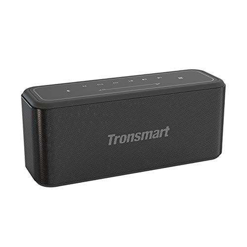 Tronsmart Mega Pro Bocina Bluetooth 5 portátil con una potencia nominal de 60W. Equipado con SoundPulse, verdadero estéreo...