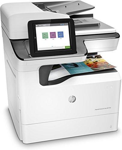 HP PageWide - Impresora multifunción (Inyección de tinta, 2400 x 1200 DPI, 550 hojas, A3, Impresión directa, Blanco)