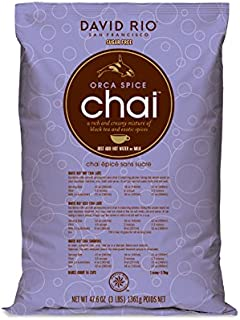 David Rio Orca Spice Sugar Free Chai, 48 Ounce (Pack of 1)