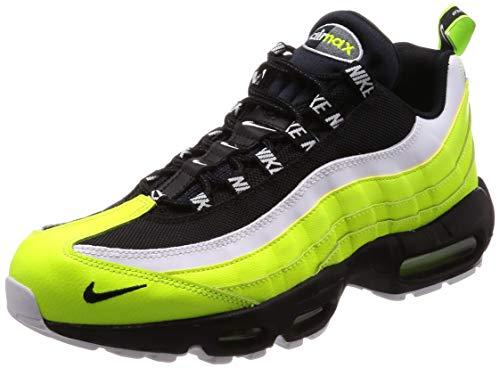 NIKE Air Max 95 Prm Sneaker Uomo 538416 701 Volt/Black-Volt Glow (44 EU)