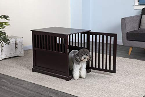 "Go Pet Club 28"" Dog Crate End Table Basic Crates"