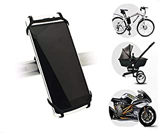 Flexible Smartphone Mount Holder for Bike, Stroller, Car Headrest, Steering Wheel, Golf Cart, Motorcycle, GPS, Gym, Shoppi...