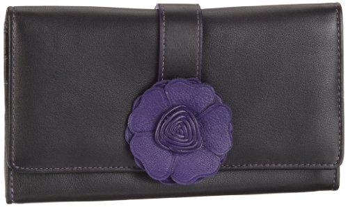 Bodenschatz Como 4-892 CO 54, Damen Portemonnaies, Violett (purple), 17x9x1 cm (B x H x T)