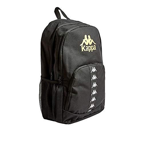 Kappa Arnie Auth Backpack Mochila, Unisex Adulto, Black/Gold