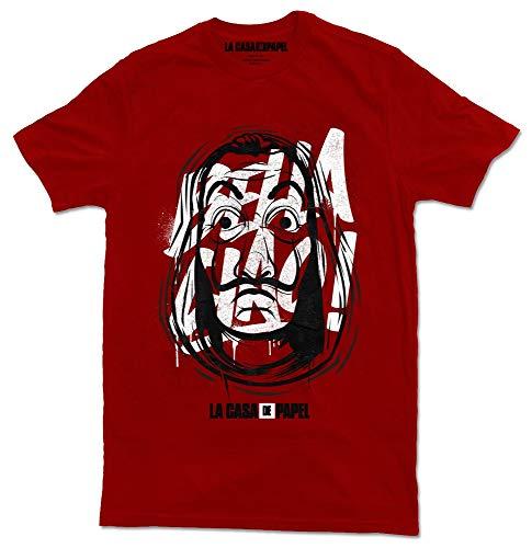 Grupo Erik CGE002-M Camiseta, Rojo, M Unisex Adulto