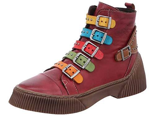 Gemini Damen Stiefeletten Stiefel 033105-02, Größe:39 EU, Farbe:Mehrfarbig