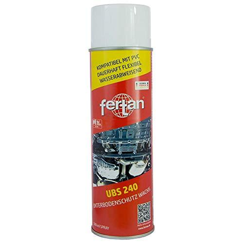 Fertan UBS 240 Wachs Unterbodenschutz transparent Spray 500 ml 27201