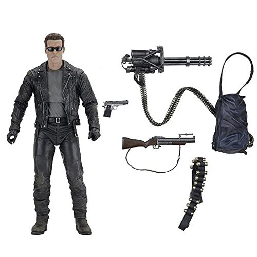 ZEwe Terminator 2 - Figura de acción de Escala de 9.1 Pulgadas - T-800 (PVC)