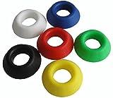 Soporte de balón Winwill®, baloncesto, fútbol, rugby. Base de soporte con pantalla de plástico, negro