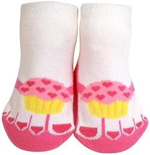 0-12 Months JazzyToes Unisex Baby Socks Trekker Sandal in Blue