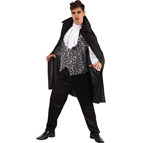 Ciao-Costume Lord Vampiro, taglia unica adulto Uomo, Bianco,nero, 62187
