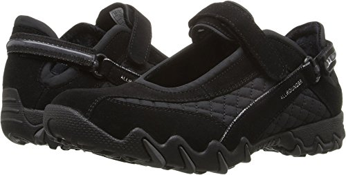 Allrounder by Mephisto Women's NIRO Black SuedeWela Mesh 1 Mary Jane
