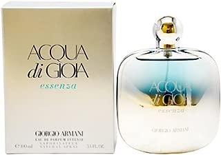 Giorgio Armani Acqua Di Gioia Essenza Eau De Parfum Intense Spray for Women, 3.4 Ounce