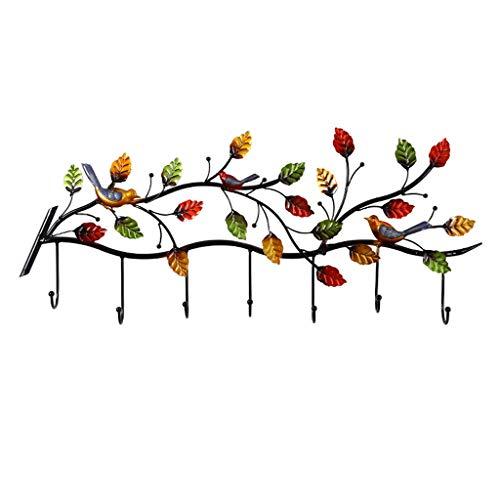 YIXIN2013SHOP Perchero de Pie Colgante de Pared de Hierro Forjado Creativo decoración salón Dormitorio Gancho Perchero Perchero para Abrigos