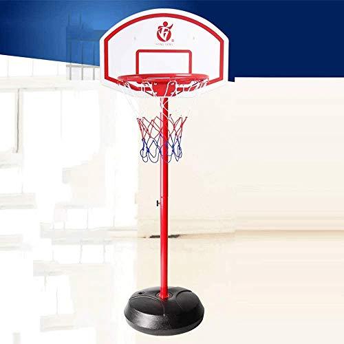 Marker Canasta Baloncesto Pared Soporte de Baloncesto, Altura Ajustable Adolescentes del aro de Baloncesto, Baloncesto Cubierta Exterior del aro del Juego del Deporte, Soporte 3-7 Bola Estándar