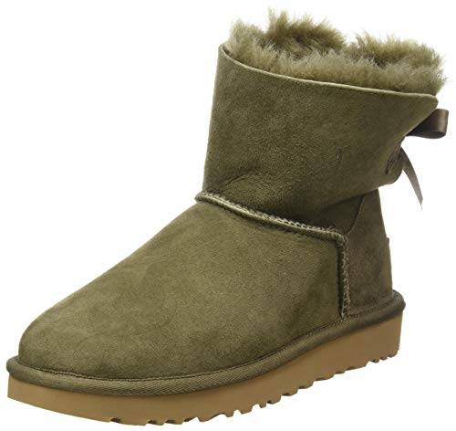 UGG Australia Damen Mini Bailey Bow II Stiefelette, Eucalyptus Spray, 36 EU
