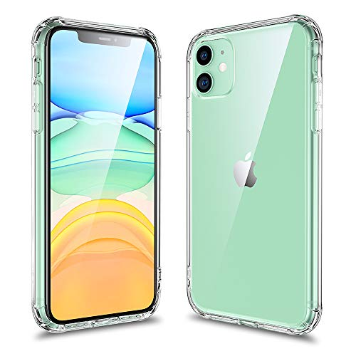 ALPULON iPhone 11 Case, Ultra-Thin HD Clear Slim Soft TPU Protective Case,Shockproof Protection Scratch-Resistant TPU Cover for iPhone 11 6.1 inch (2019) Crystal Clear