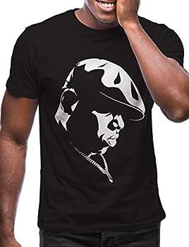 Swag Point Hip Hop T-Shirt - Funny Vintage Street wear Hipster Parody  L Biggie-BLK