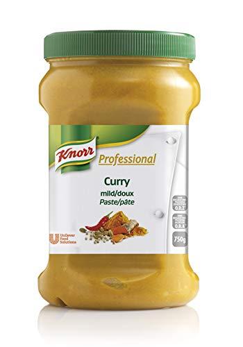 Knorr Professional Würzpaste Curry mild (natürlicher Geschmack, immer einsatzbereit) 1er Pack (1 x 750g)