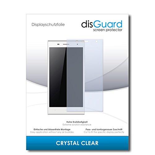 disGuard® Bildschirmschutzfolie [Crystal Clear] kompatibel mit Hisense HS-U988 [2 Stück] Kristallklar, Transparent, Unsichtbar, Extrem Kratzfest, Anti-Fingerabdruck - Panzerglas Folie, Schutzfolie