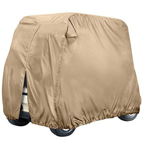 NXL Cubierta Funda para Buggy Carro De Golf para Club Car Cubierta De Carro De Golf A Prueba De Agua con Material Resistente Al Agua para 2 4 Pasajeros del Carro De Golf,M