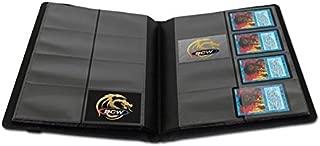 BCW Black Gaming Playset PRO-FOLIO 8 POCKET LX Premium Binder Padded Leatherette