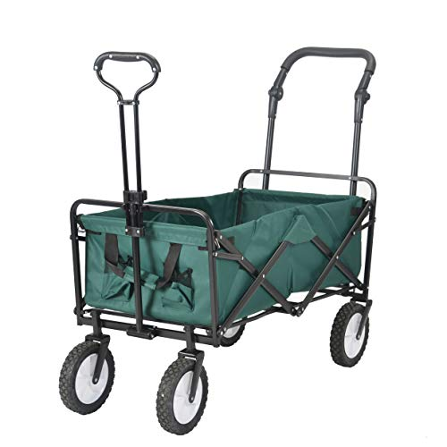 BTM キャリーワゴン 子供 折りたたみ テーブル ストッパーつき 軽量 頑丈 キャリーカート 持ち運び便利 マルチキャリー 台車 運動会 キャンプ アウトドアワゴン