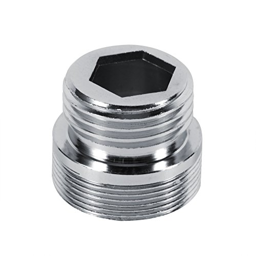 MAVIS LAVEN Faucet Aerator Adapter, G1 2 Kitchen Copper Water Purifier Faucet Aerator Adapter Accessories 1PC 22mm 24mm 4 Sizes(24mmto15mm)