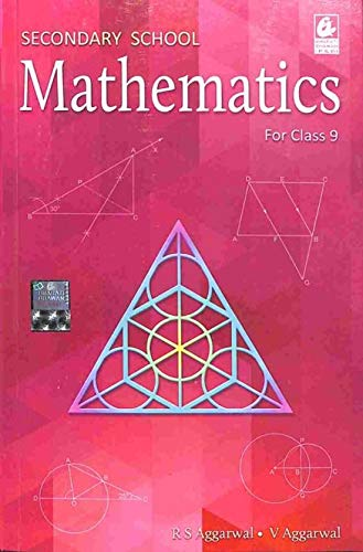 Secondary School Mathematics For Class 9 By R.S Aggarwal