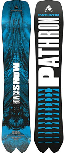 Pathron Snowboard Dream Catcher 2020 (164cm Wide, Blue)