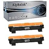 2 Toner Alphaink Compatibile con Brother TN-1050 versione da 1000 copie per stampanti Brother DCP1510 DCP1512 DCP1601 DCP1610W HL1110 HL1112 HL1211W MFC1810 MFC1815 MFC1910